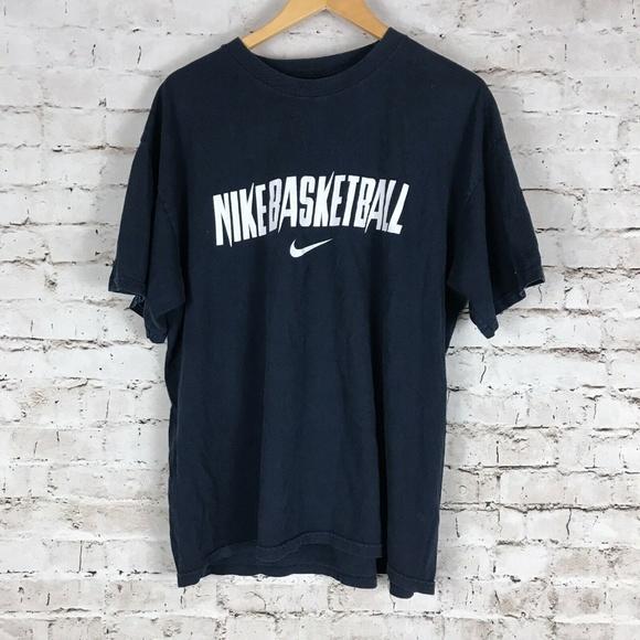 XL /& XXL Nike Mens Short Sleeve Graphic Swoosh T shirt Tee NWT blue Dri-Fit
